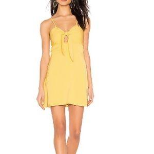 Rikkie Tie Front Dress